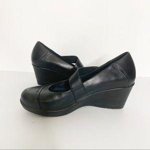 Dansko Fawna Mary Jane black leather shoes 40